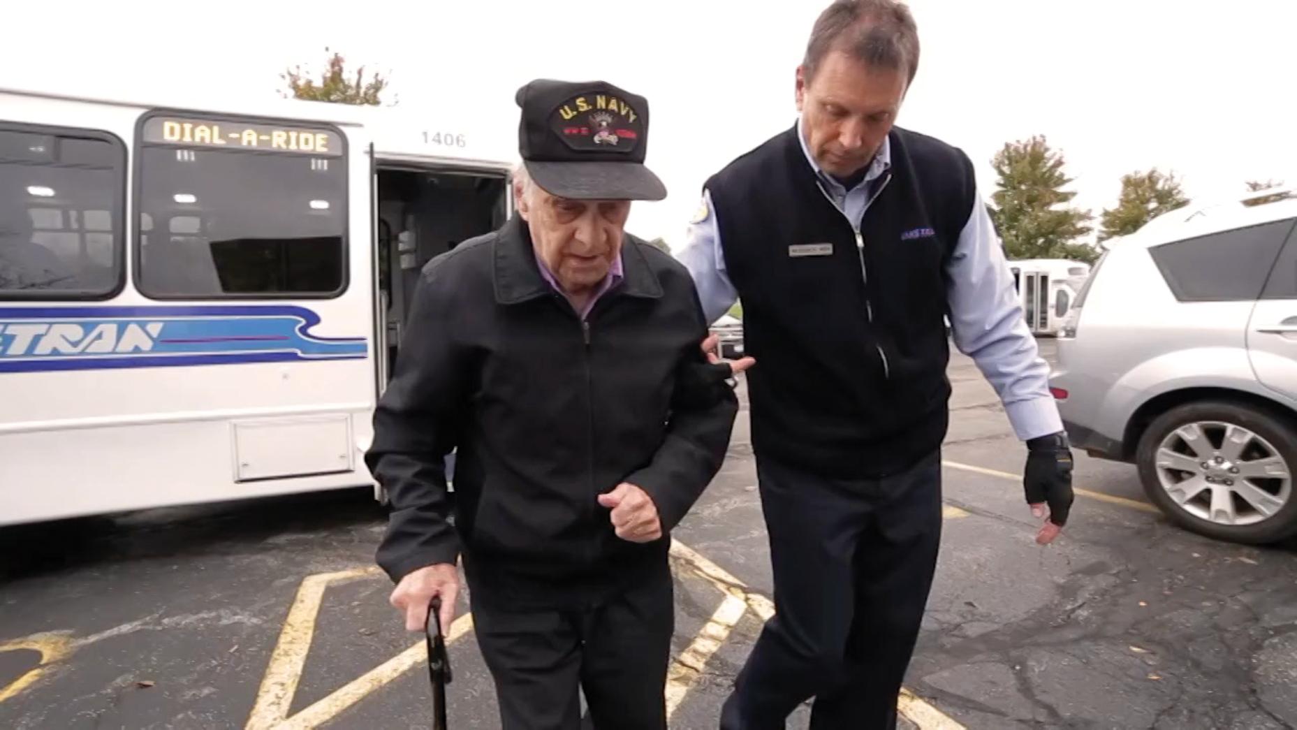 Laketran serves veterans