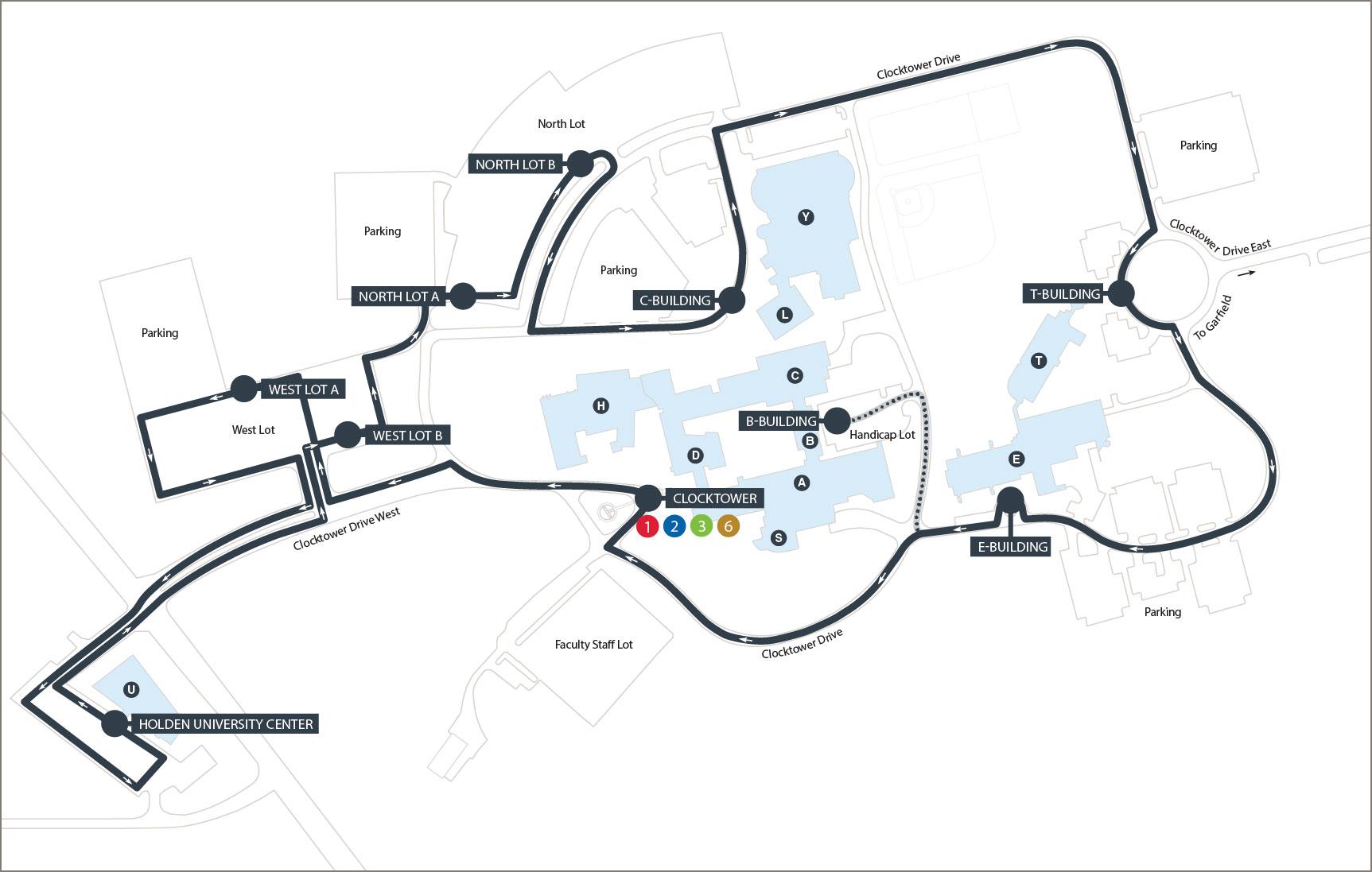Campus Loop Map