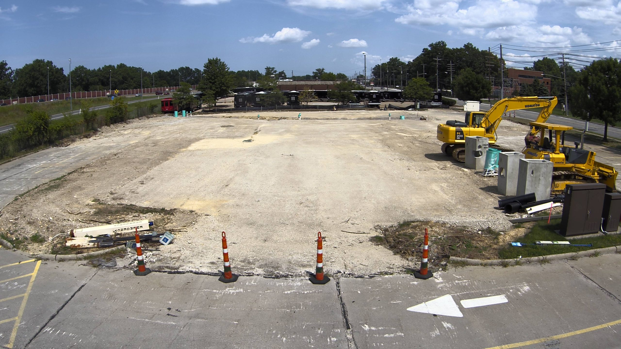 View from construction cam 8/14/2020