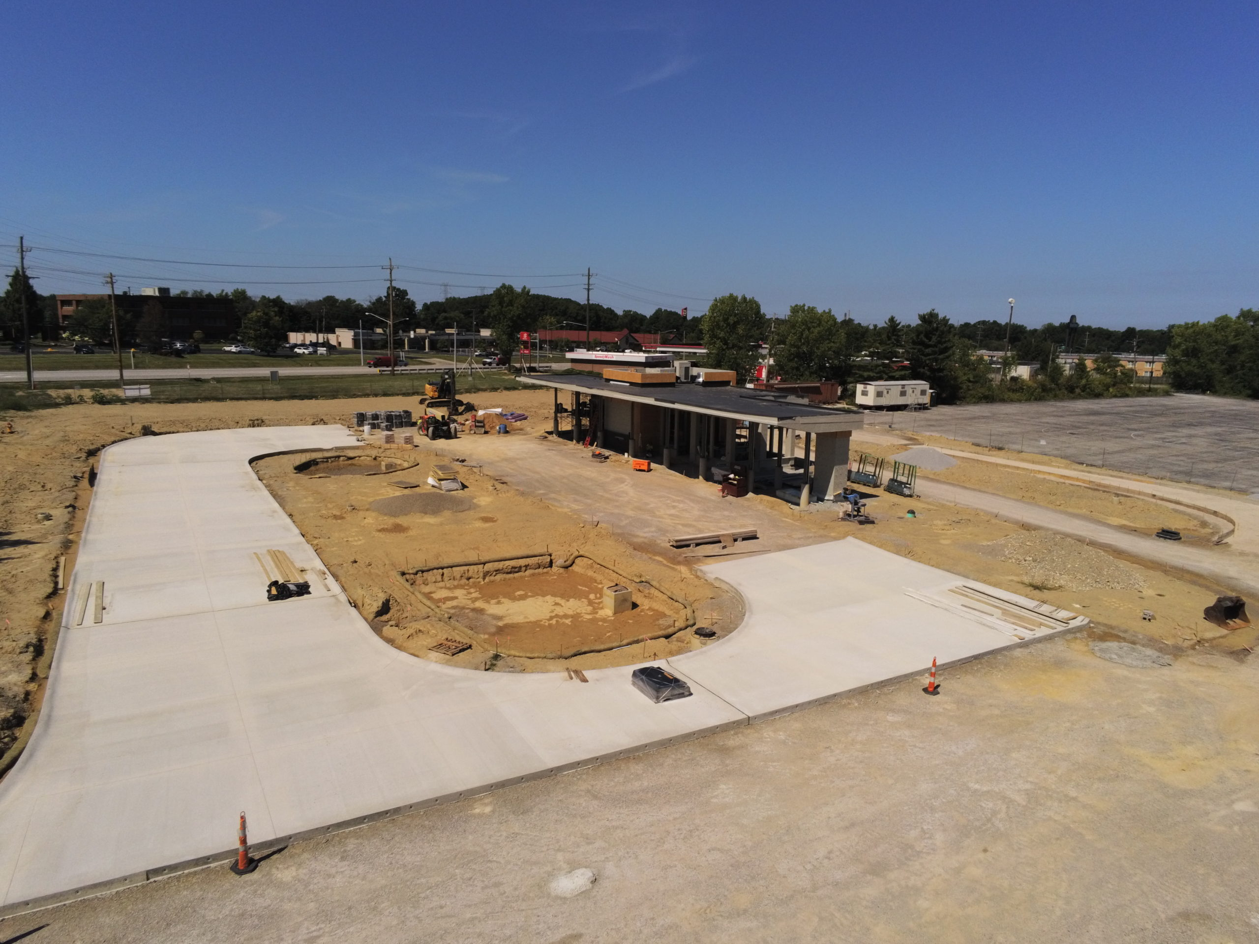 Construction Progress 8/20/2020